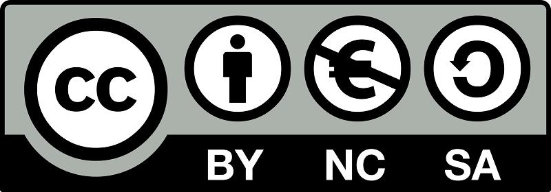 Reconocimiento No Comercial Compartir Igual
