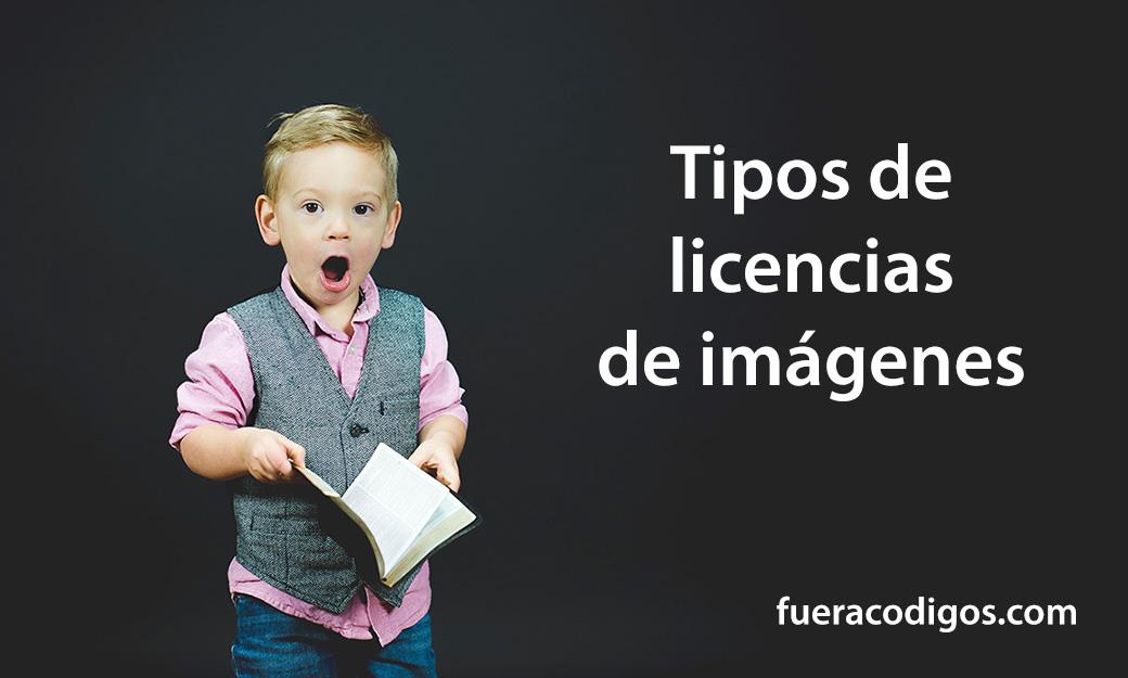 Tipos de licencias de imágenes