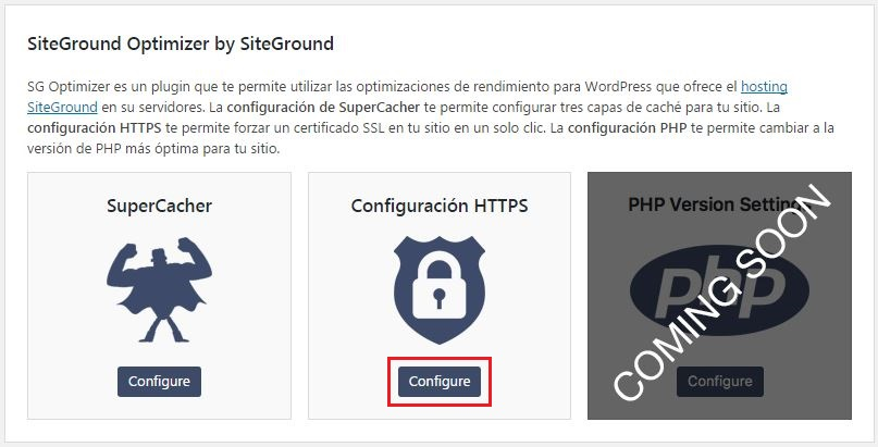 SiteGround Optimizer