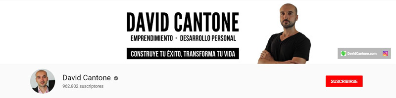 David Cantone - Canal de YouTube