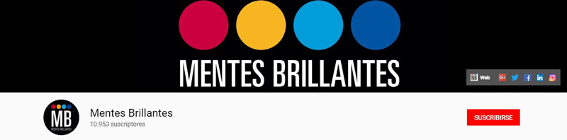 Mentes Brillantes - Canal de YouTube