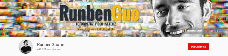 RunbenGuo - Canal de YouTube