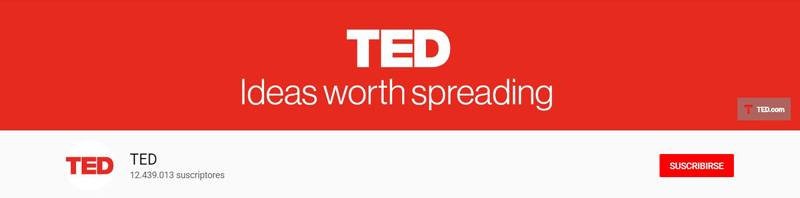TED - Canal de YouTube